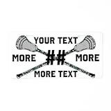 Lacrosse License Plates