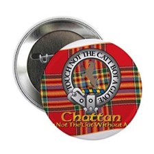 "Chattan Clan 2.25"" Button"