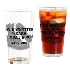 Navy mom daughter wears CB Drinking Glass