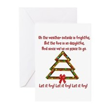 Let It Fry Greeting Cards (Pk Of 10)