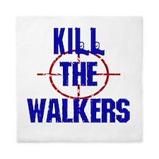 Kill The Walkers Queen Duvet