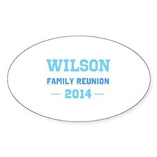 Make Your Own Blue Family Reunion Decal