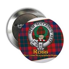 "Ross Clan 2.25"" Button"