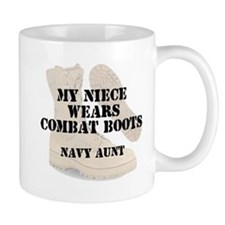 Navy Aunt Niece wears DCB Mugs