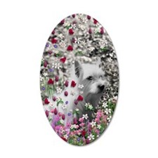 Violet the White Westie Wall Decal