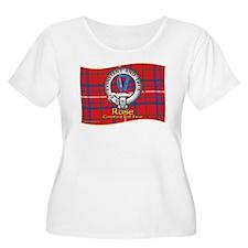 Rose Clan Plus Size T-Shirt