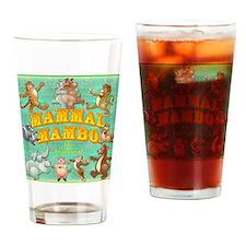 Mammal Mambo Drinking Glass