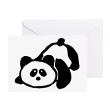 pandabearfill Greeting Card