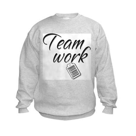 Teamwork -- Priceless Kids Sweatshirt