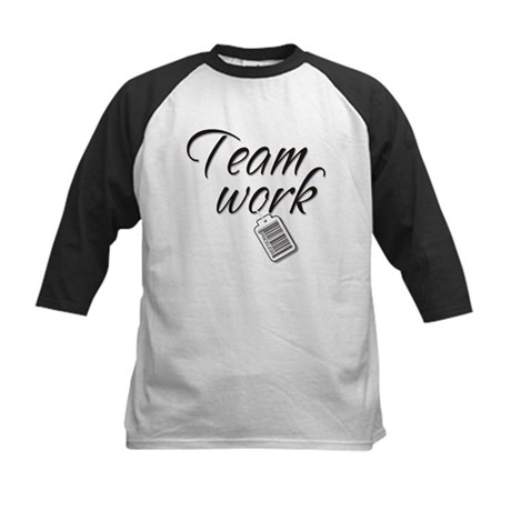 Teamwork -- Priceless Kids Baseball Jersey