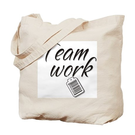 Teamwork -- Priceless Tote Bag