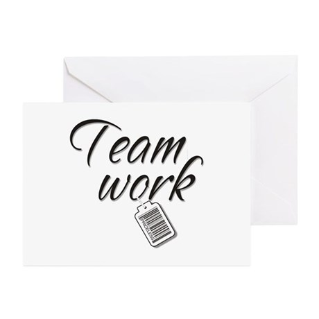 Teamwork -- Priceless Greeting Cards (Pk of 10