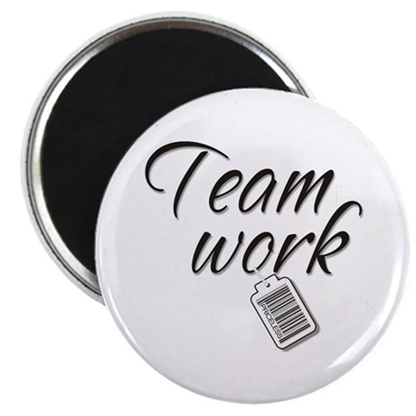 "Teamwork -- Priceless 2.25"" Magnet (100 pack)"