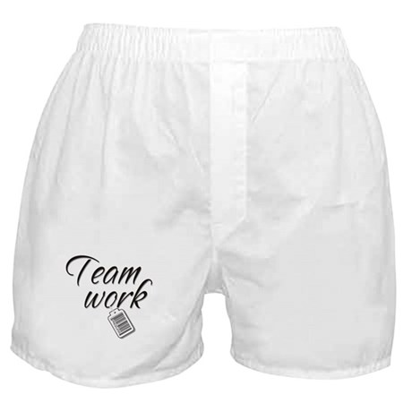 Teamwork -- Priceless Boxer Shorts