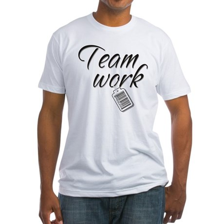 Teamwork -- Priceless Fitted T-Shirt