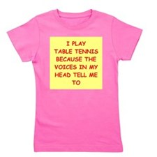 table tennis Girl's Tee
