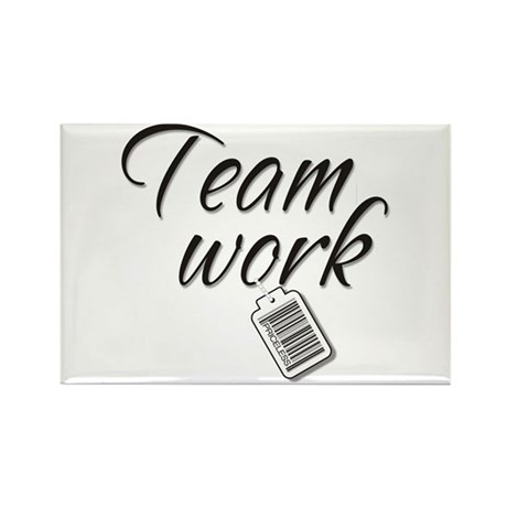 Teamwork -- Priceless Rectangle Magnet (10 pack)