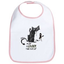 Cute Guitar music Bib