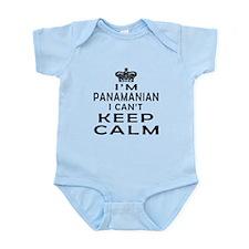 I Am Panamanian I Can Not Keep Calm Infant Bodysui