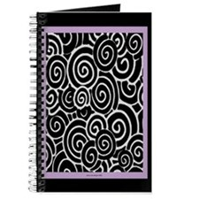Plum Swirls Journal