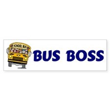 Bus Boss Bumper Bumper Sticker