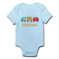 Personalized Alphabet Train Body Suit