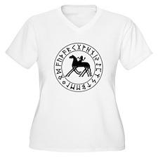 Sleipnir tshirt 10 by 10.png Plus Size T-Shirt