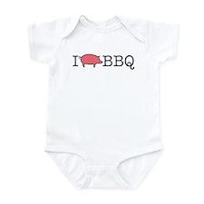 I Cook BBQ Infant Bodysuit