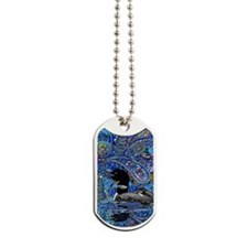 Paisely Loon Dog Tags