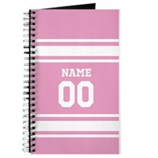 Sports Jersey Pink Journal
