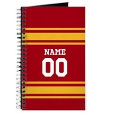 Red Gold Sports Jersey Journal