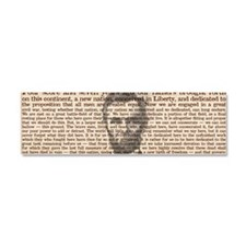 lincoln Car Magnet 10 x 3