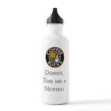 Scrubs - Coffee and Mu Water Bottle