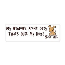 Nose Art Car Magnet 10 x 3