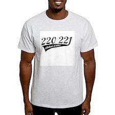 220 221 Ash Grey T-Shirt