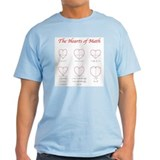 Hearts Curves/Surface Light Color T-Shirt