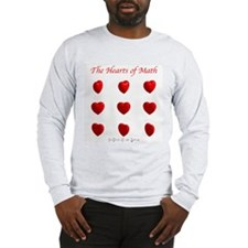 Hearts Surface/Curves Long Sleeve T-Shirt