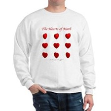 Hearts Surface/Curves Sweatshirt