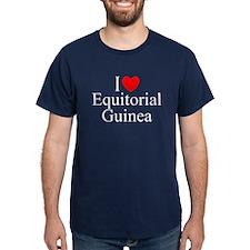 """""""I Love Equitorial Guinea"""" T-Shirt"""