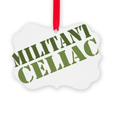 Militant Celiac Shirt Ornament