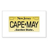 Cape May Rectangle Decal
