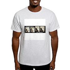 First Love - Pit bulls Ash Grey T-Shirt