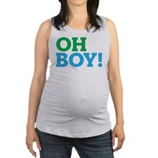 Oh Boy Type Maternity Tank Top