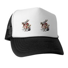 white-rabbit Trucker Hat