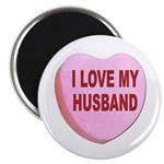 I Love My Husband Valentine Magnet