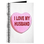 I Love My Husband Valentine Journal
