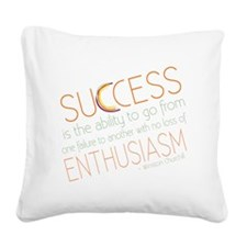 success3 Square Canvas Pillow