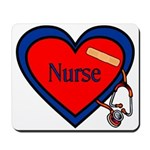 Nurse Heart Mousepad