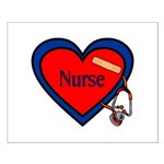 Nurse Heart Small Poster