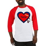 Nurse Heart Baseball Jersey